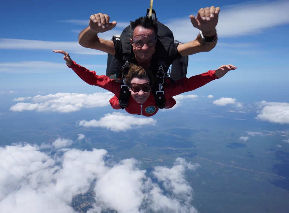 Meryl Best Lowell - Sky Diving